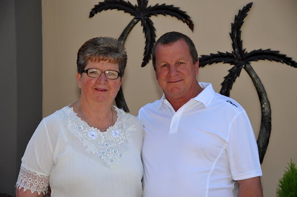 Your Hosts at Agros Guesthouse in Kimberley - Peter & Alta Adams